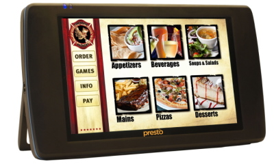 Can iPads replace traditional menus and service