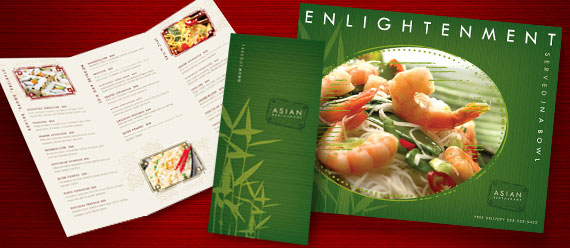 menu ideas asian restaurant - Restaurant Menu Design Ideas
