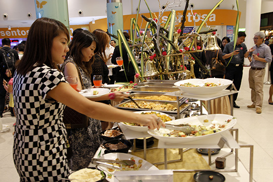 restaurant holiday promotion catering service