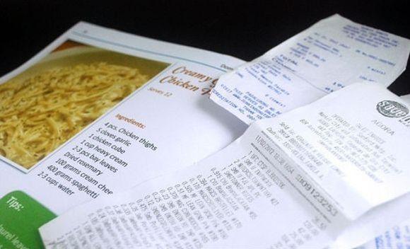 prix fixe menu items selection