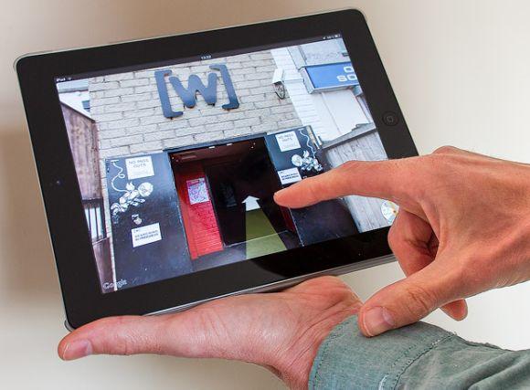restaurant virtual tour ipad