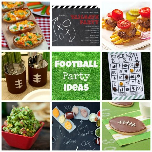super bowl party ideas for a bar food presentation