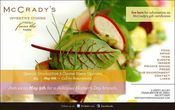 restaurant email marketing promotional mail