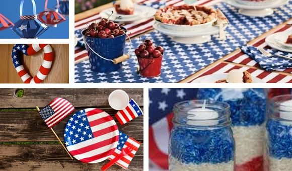 4th of July Restaurant Promotions Ideas decorations