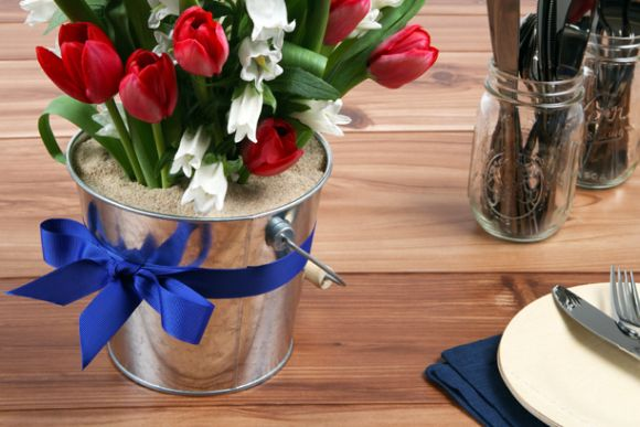 4th of July Restaurant Promotions Ideas flowers