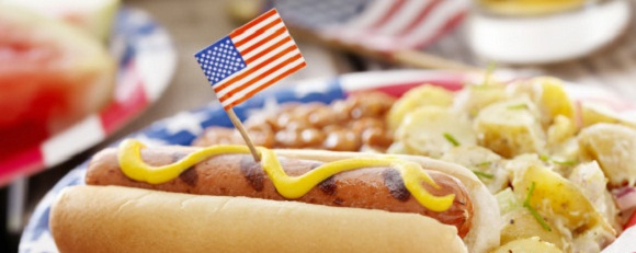4th of July Restaurant Promotions Ideas menu