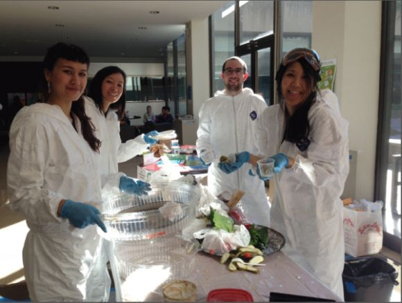 restaurant food waste reduction waste audit team