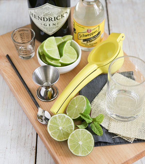 how to calculaate food costs gin and tonic ingredients