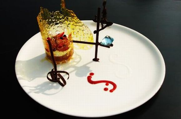 restaurant food presentation ideas desert