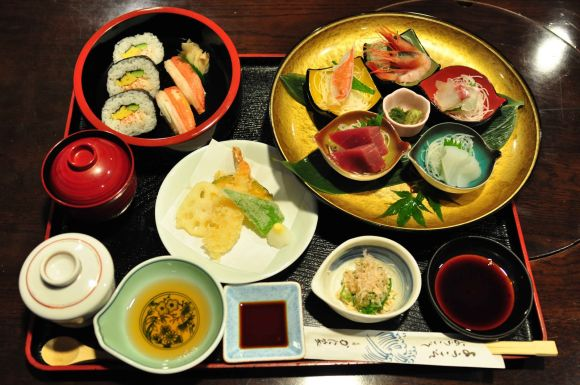 restaurant food presentation ideas Japanese