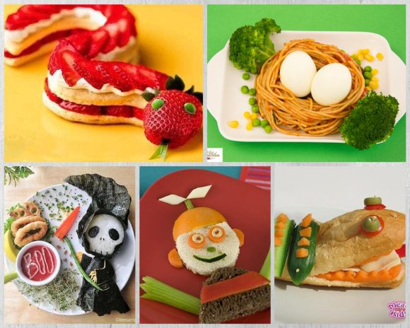 restaurant food presentation ideas kids food presentation
