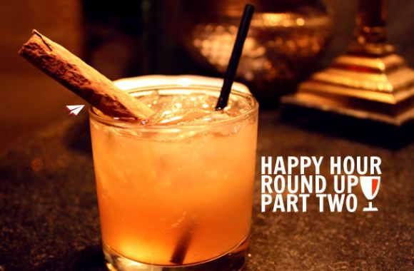 happy hour ideas cocktail