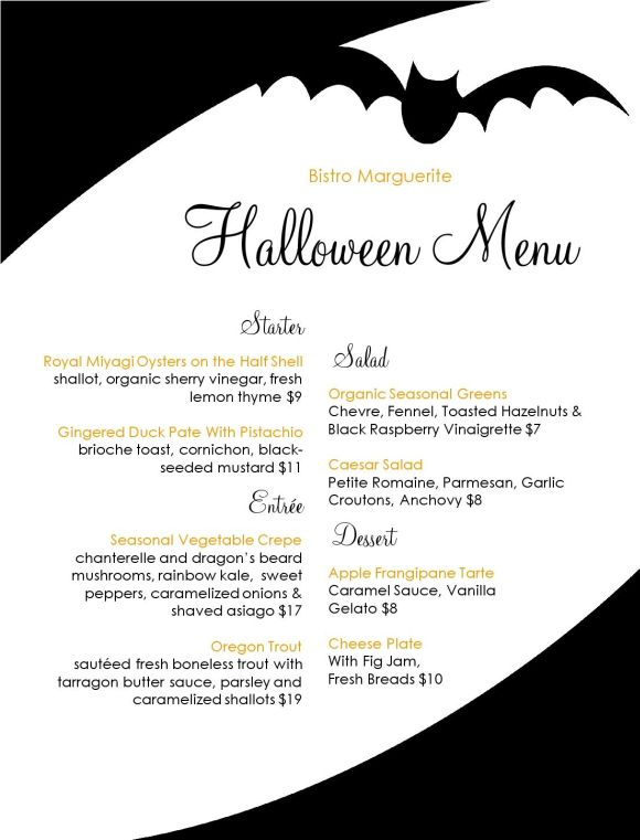 Halloween Promotion Ideas For Restaurants And Bars Menu Ideas